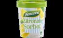 Zitronen-Sorbet