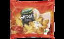 Wedges aus deutschen Bio-Kartoffeln