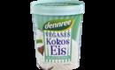 Veganes Kokos-Eis, mit 40% Kokosmilch
