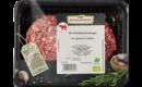 Rindfleisch-Burger-Patties roh, frisch