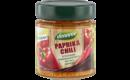 Paprika-Chili stückiger Gemüseaufstrich mit 55% Gemüse