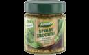Spinat-Zucchini stückiger Gemüseaufstrich mit 51% Gemüse