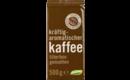 Kaffee kräftig-aromatisch, filterfein gemahlen