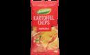 Kartoffelchips mit Paprika