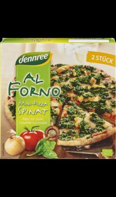 Al Forno Mini-Pizza Spinat