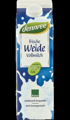 Frische Weide-Vollmilch im Elo Pak, 1 l