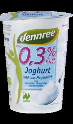 Joghurt mild aus Magermilch, max. 0,3% Fett