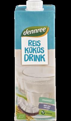 Reis-Kokos-Drink Natur
