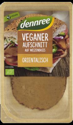 Veganer Aufschnitt auf Weizenbasis Orientalisch