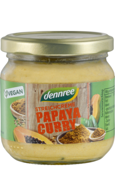 Streichcreme Papaya-Curry
