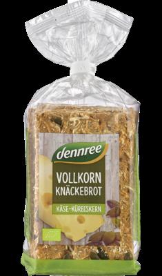 Vollkorn-Knäckebrot Käse-Kürbiskern