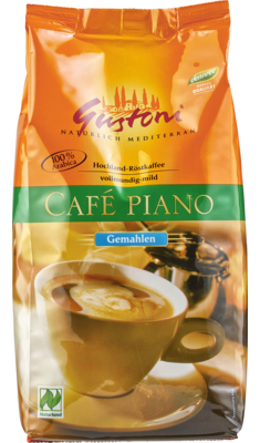 Café piano vollmundig-mild, gemahlen