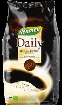 Daily Hochlandkaffee gemahlen