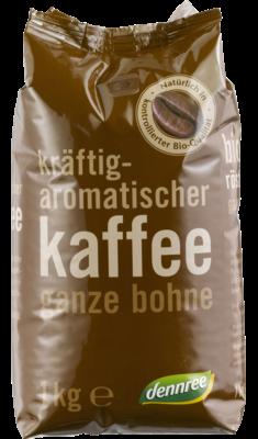 Kräftig-aromatischer Kaffee ganze Bohne