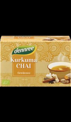 Kurkuma-Chai Gewürztee