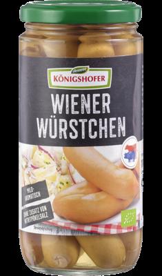 Wiener Würstchen geräuchert, ohne Nitritpökelsalz