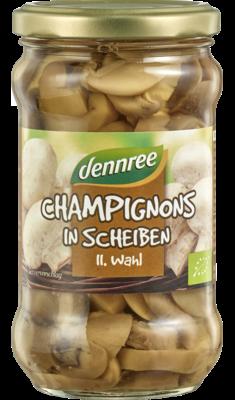 Champignons in Scheiben, II. Wahl