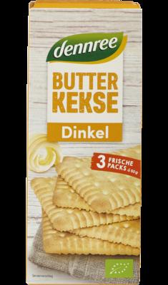 Dinkel-Butterkekse