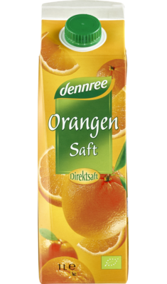 Orangensaft im Elopak, 1 l