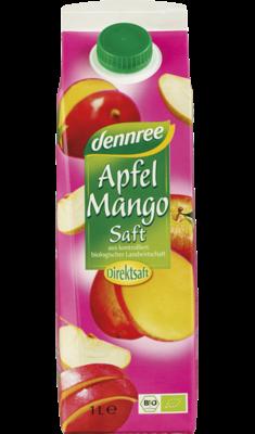 Apfel-Mango-Saft im Elopak, 1 l