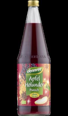 Apfel-Holunder-Punsch