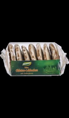 Feine Oblaten-Lebkuchen mit Zuckerglasur